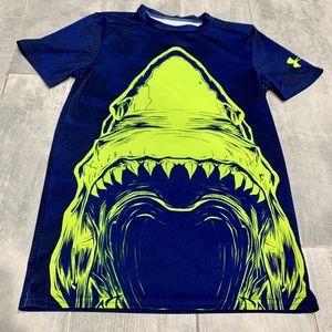 Under Armor Shark Dry Gear T Shirt Medium